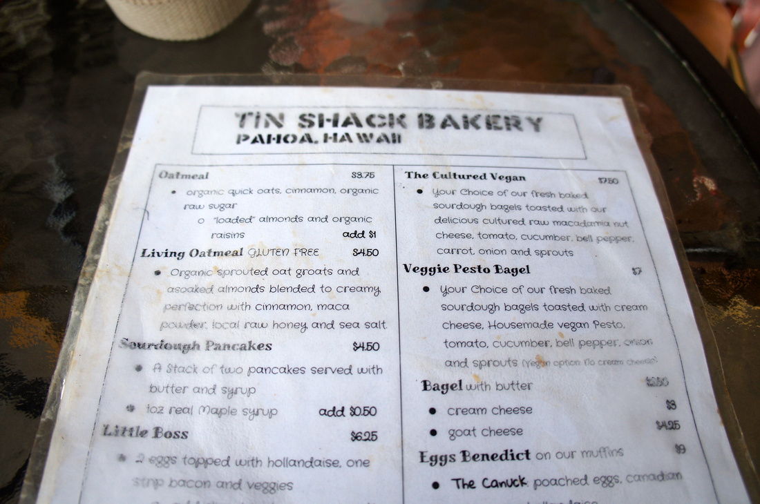 Living oatmeal, sourdough pancakes, or veggie pesto bagels - Tin Shack offers lots of delicious option that are vegetarian and vegan friendly. Their coffee is also a perfect start to a day of sightseeing the beautiful island.
