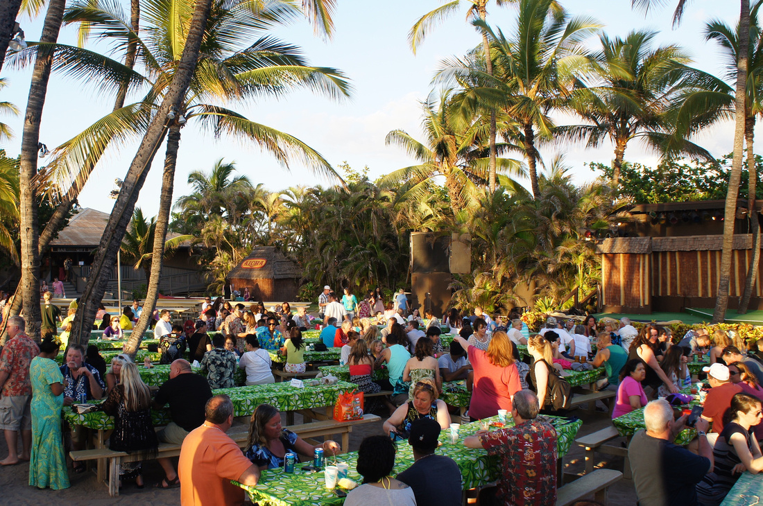 This was our fourth visit to Hawaii but only the first time to attend a Luau. We strayed away from it thinking it would be too cheesy or touristy but we were actually very pleasantly surprised that it was a lot of fun. Especially in the company of our friends.