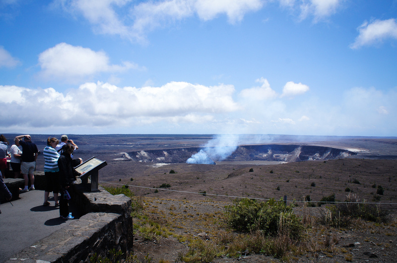 Nature is not always predictable. Even though we really wanted to see hot lava flowing from a crater there was no activity during our visit to Hawaii. Maybe next time.