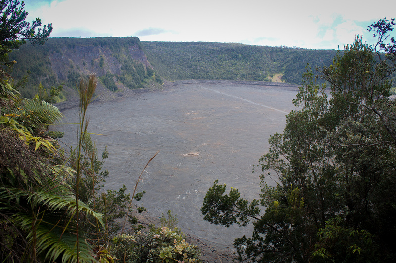 In 1959 a huge volcano explosion covered this once green valley with lava. The sight is surreal.