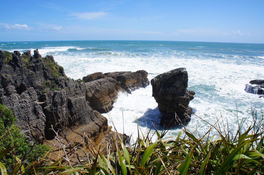 Punakaiki Pancake Rocks of New Zealand