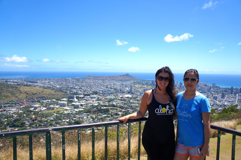 If hiking is not your thing but you still love beautiful views Tantalus Lookout is your spot to see views spanning from Diamond Head to Pearl Harbor in Oahu.