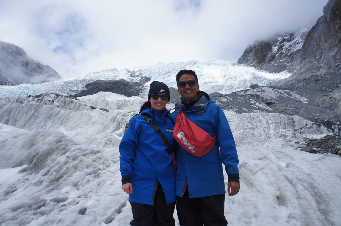 Franz Josef Glacier heli-hike.