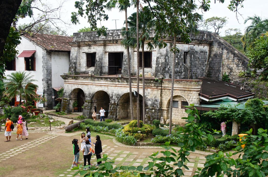 Fort San Pedro in Cebu, Philippines