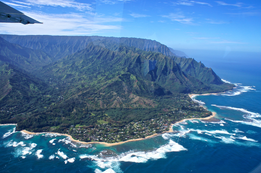 Celebrities love Kauai and many of them - including Julia Roberts & Pierce Brosnan - have houses on the north shore of the island.
