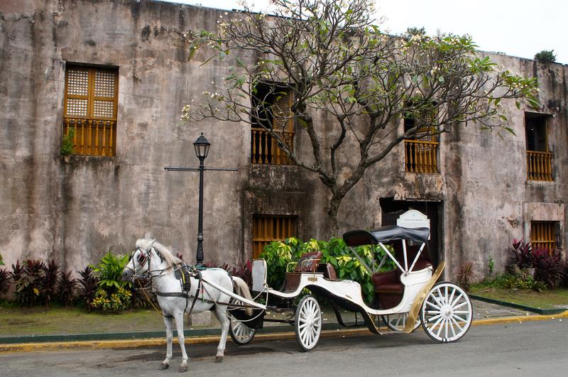 Intramuros, Manila, Philippines.