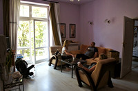Our apartment in Krakow - Livingroom