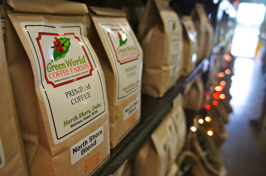 Green World Coffee Farms, Oahu, Hawaii