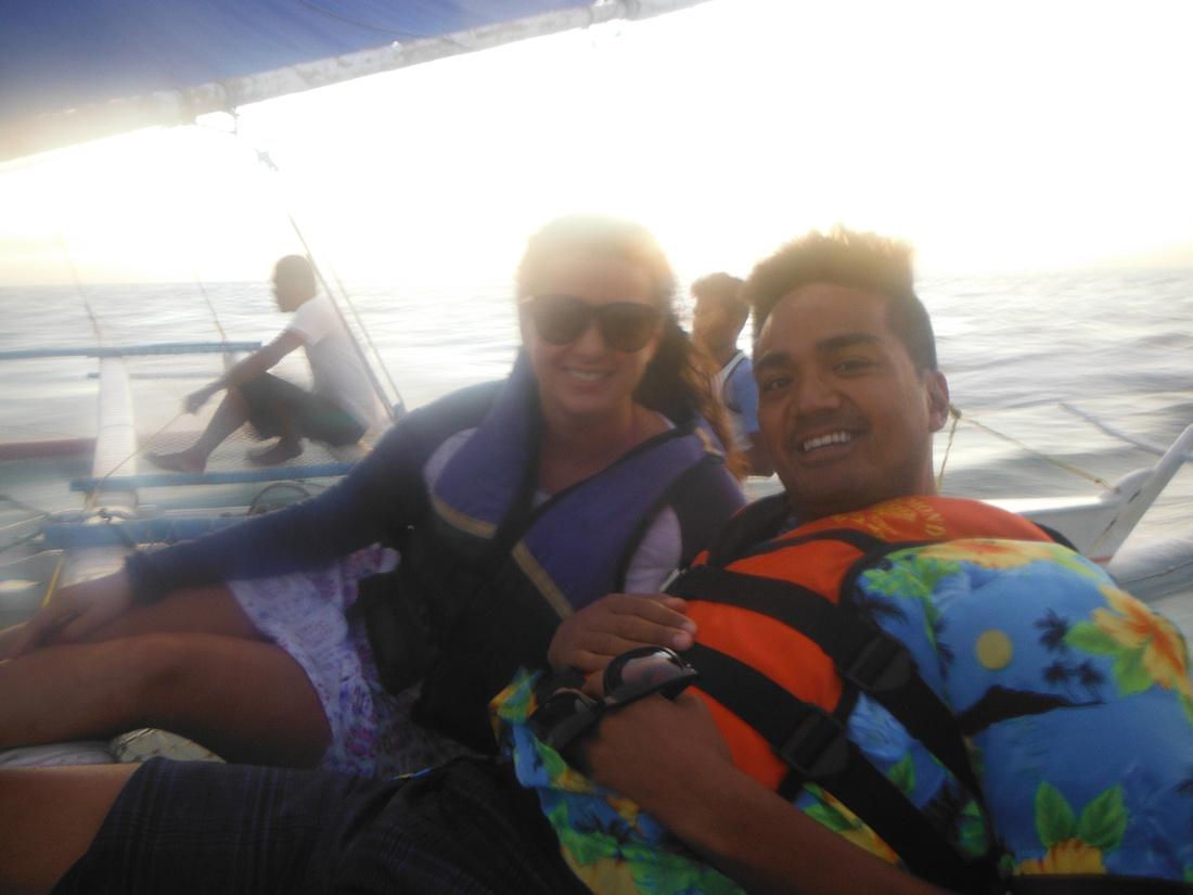 Boracay sunset sail