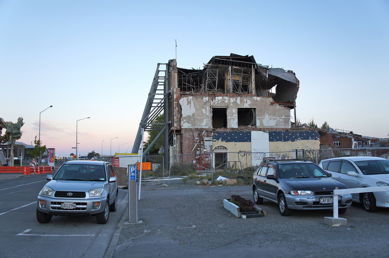 Christchurch after the earthquakes, New Zealand.