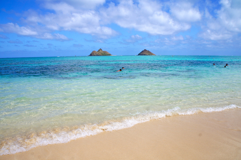 Lanikai beach in Oahu