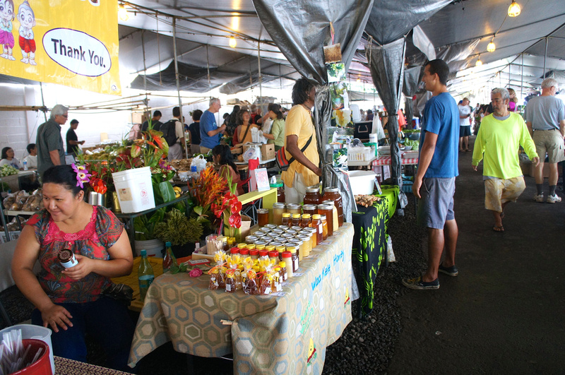 Hilo's farmers market vendors.