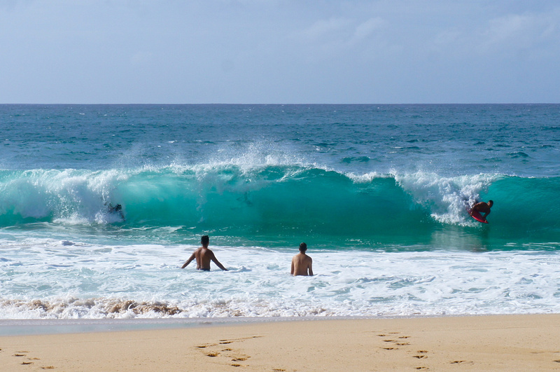 North Shore Beach, Oahu, Hawaii