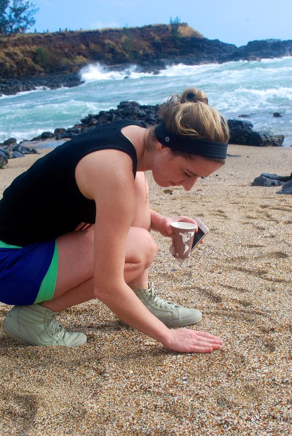 Glass Beach in Kauai