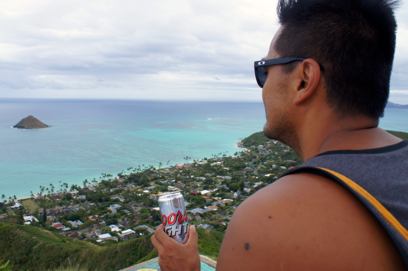Lanikai Pillboxes Hike in Oahu, Hawaii