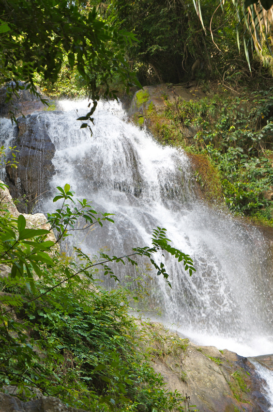 Waterfall in Koh Samui