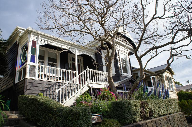 Auckland house, New Zealand.