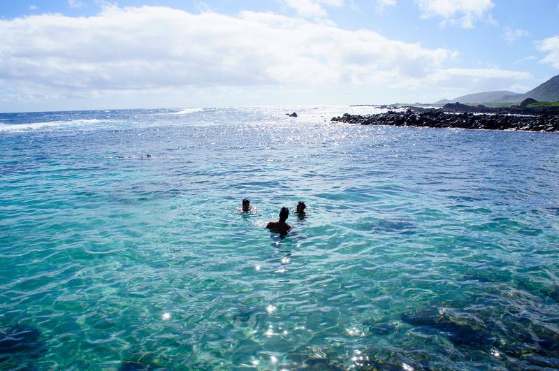Alan Davis beach near Makapu'u Lighthouse, Oahu, Hawaii