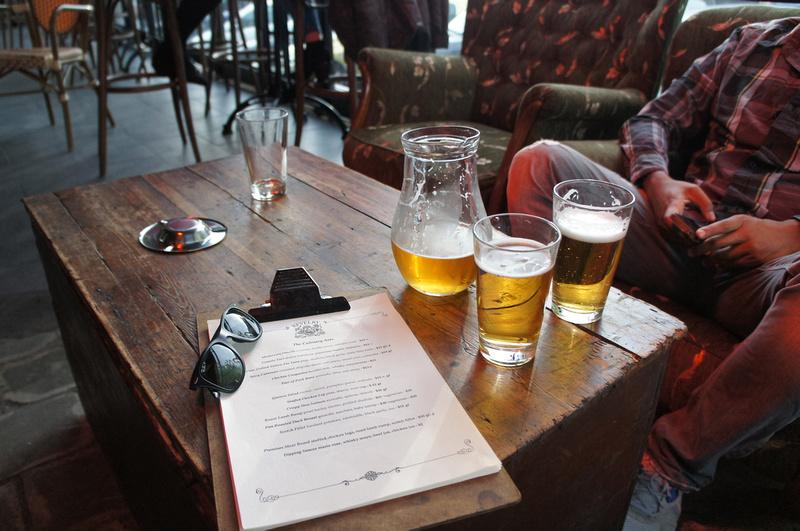 Revelry bar, Ponseby area, Auckland, New Zealand.