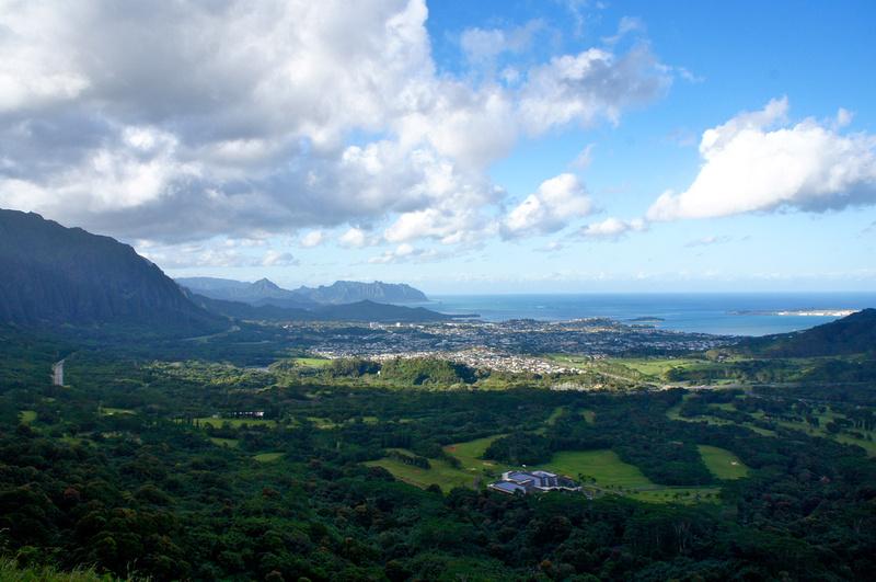 Pali Lookout, Oahu, Hawaii