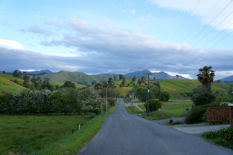 Nelson area on New Zealand's South Island.