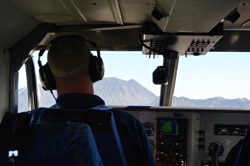 Pilot has the best views
