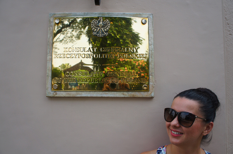 Polish Consulate in Manila. Polski Konsulat w Manili
