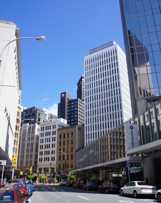 Wellington City Skyscrapers