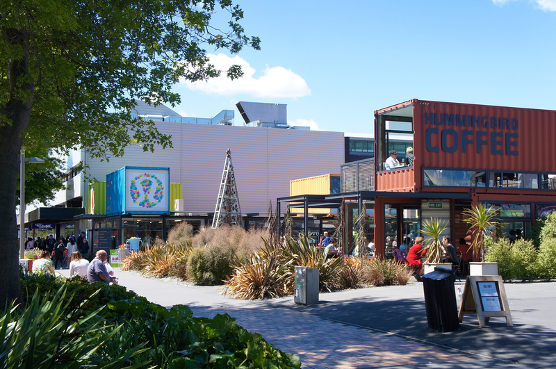 Re:START Container Mall in Christchurch, New Zealand.