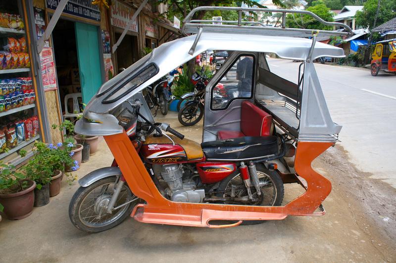 Pimped out tricycle in the Philippines