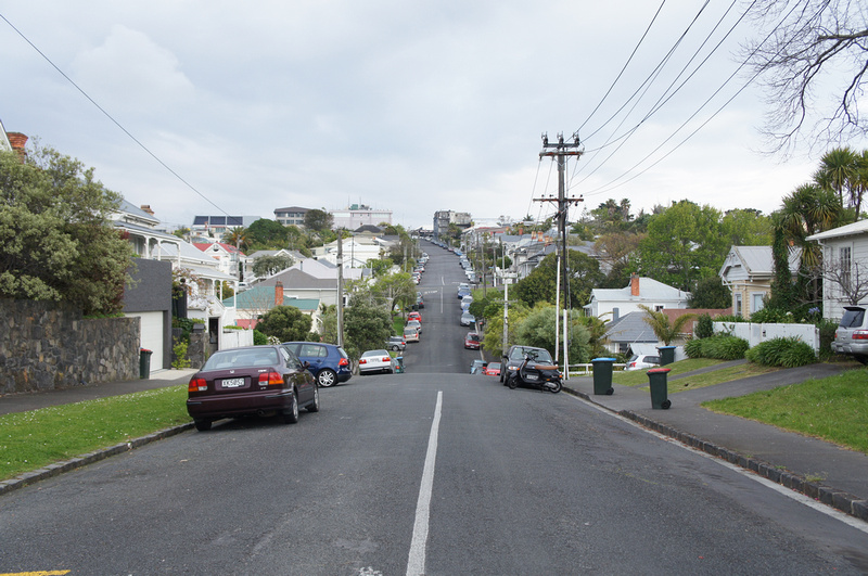 Auckland neighborhood, New Zealand.