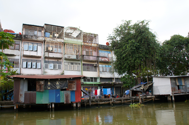The Canal Tour in Bangkok allowed us to see the poverty and the conditions in which many people live.