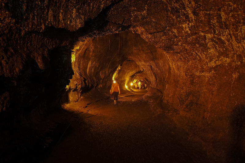 Nahuku aka Thurston Lava Tube dates back 500 years and is really fun to walk through. You don't even need a flash light.
